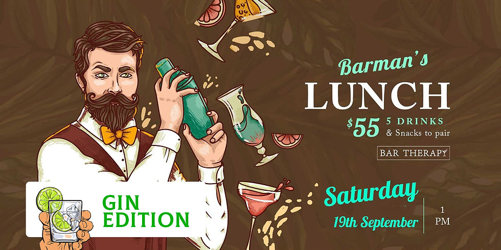 Barman's Lunch - Gin Edition SOLD OUT