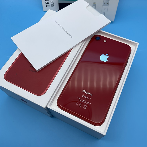 Apple iPhone 8 (Red Edition, Unlocked, 64GB)
