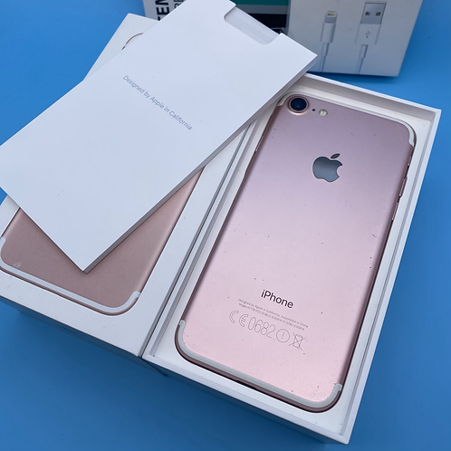 Apple iPhone 7 (Rose Gold, Unlocked, 32GB)