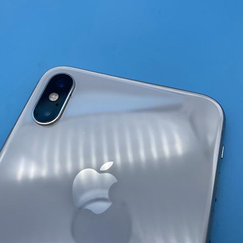 Apple iPhone XS Max (Silver, Unlocked, 64GB)