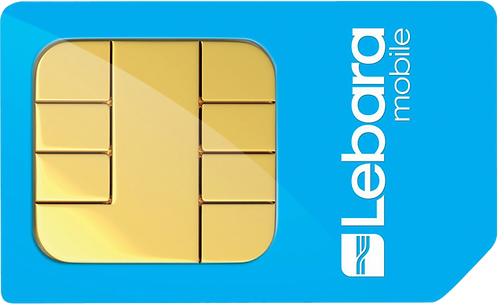 PAYG SIM Card (Lebara Mobile)