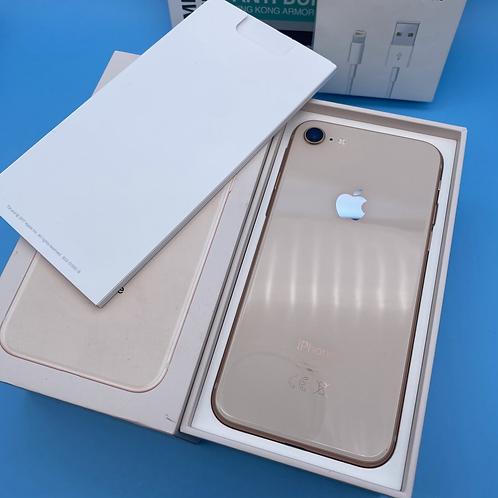 Apple iPhone 8 (Gold, Unlocked, 64GB)