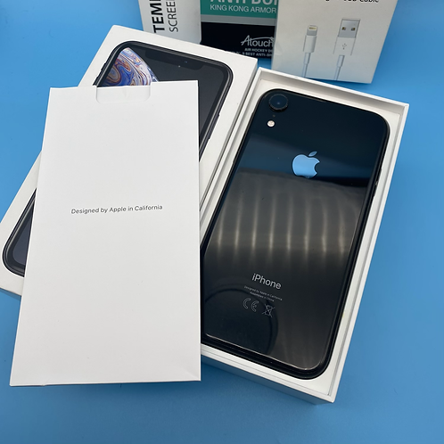 Apple iPhone XR (Black, Unlocked, 64GB)