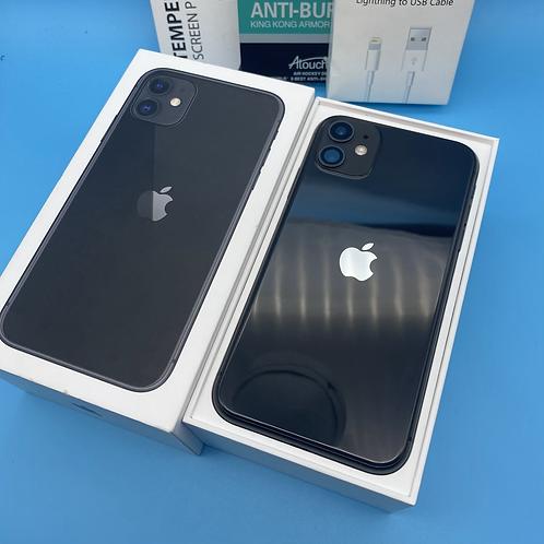 Apple iPhone 11 (Black, Unlocked, 64GB)