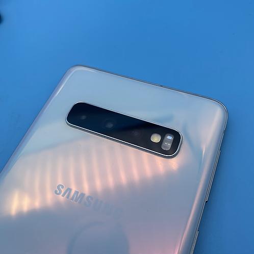 Samsung Galaxy S10 (Prism White, Unlocked, 128GB)