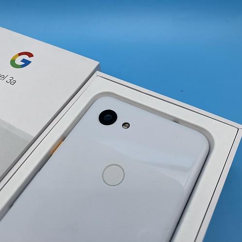 Google Pixel 3a (White, Unlocked, 64GB)