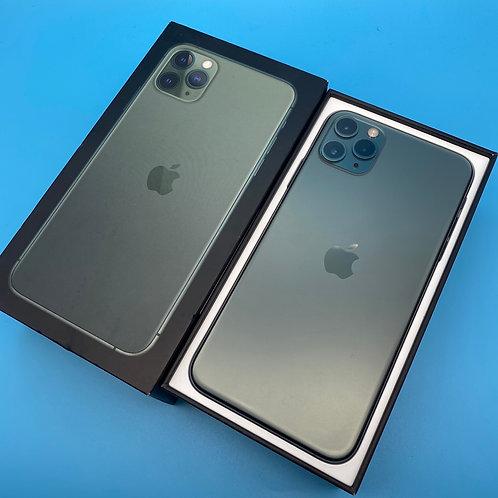 Apple iPhone 11 Pro Max (Midnight Green, Unlocked, 64GB)