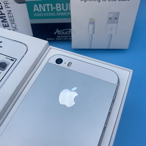 Apple iPhone 5S (Silver, Unlocked, 16GB)