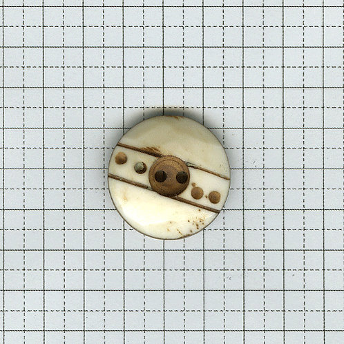 骨のボタン 6-400-05