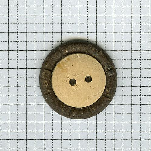 ココナッツと骨のボタン 6-400-20