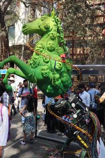 Visit to Kala Ghoda Festival