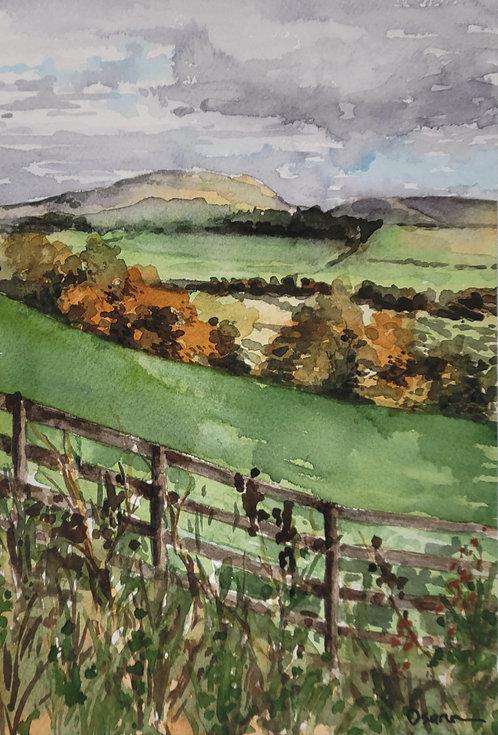 St. Cuthbert's Way, Autumn