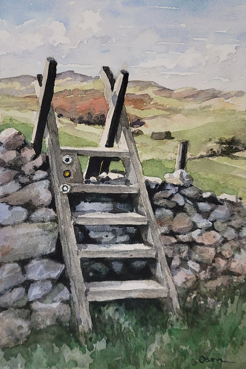 Over the Wall, St. Cuthbert's Way