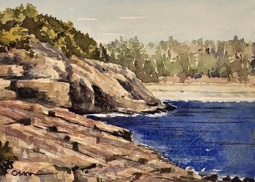 Cliffs by Sand Beach