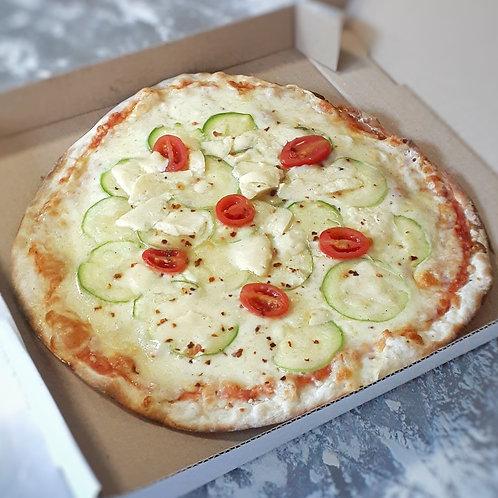 Pizza Congelada Abobrinha