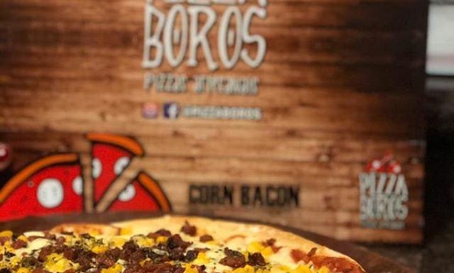 Pizza Corn Bacon