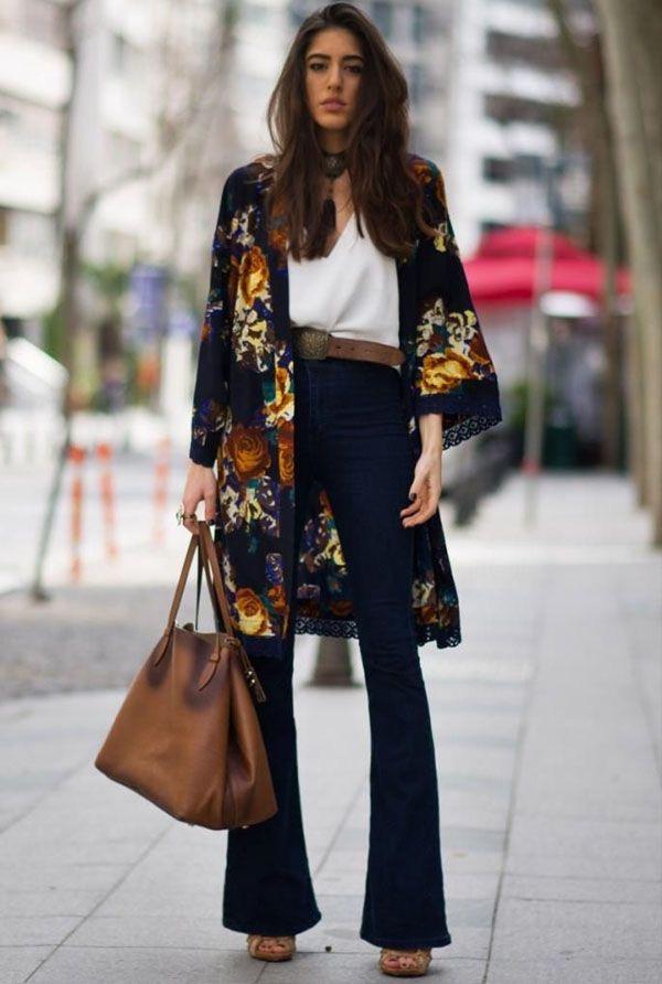Resultado de imagem para looks kimono