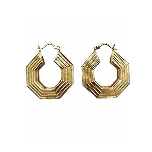 Calatorie Gold Earrings by MTOY