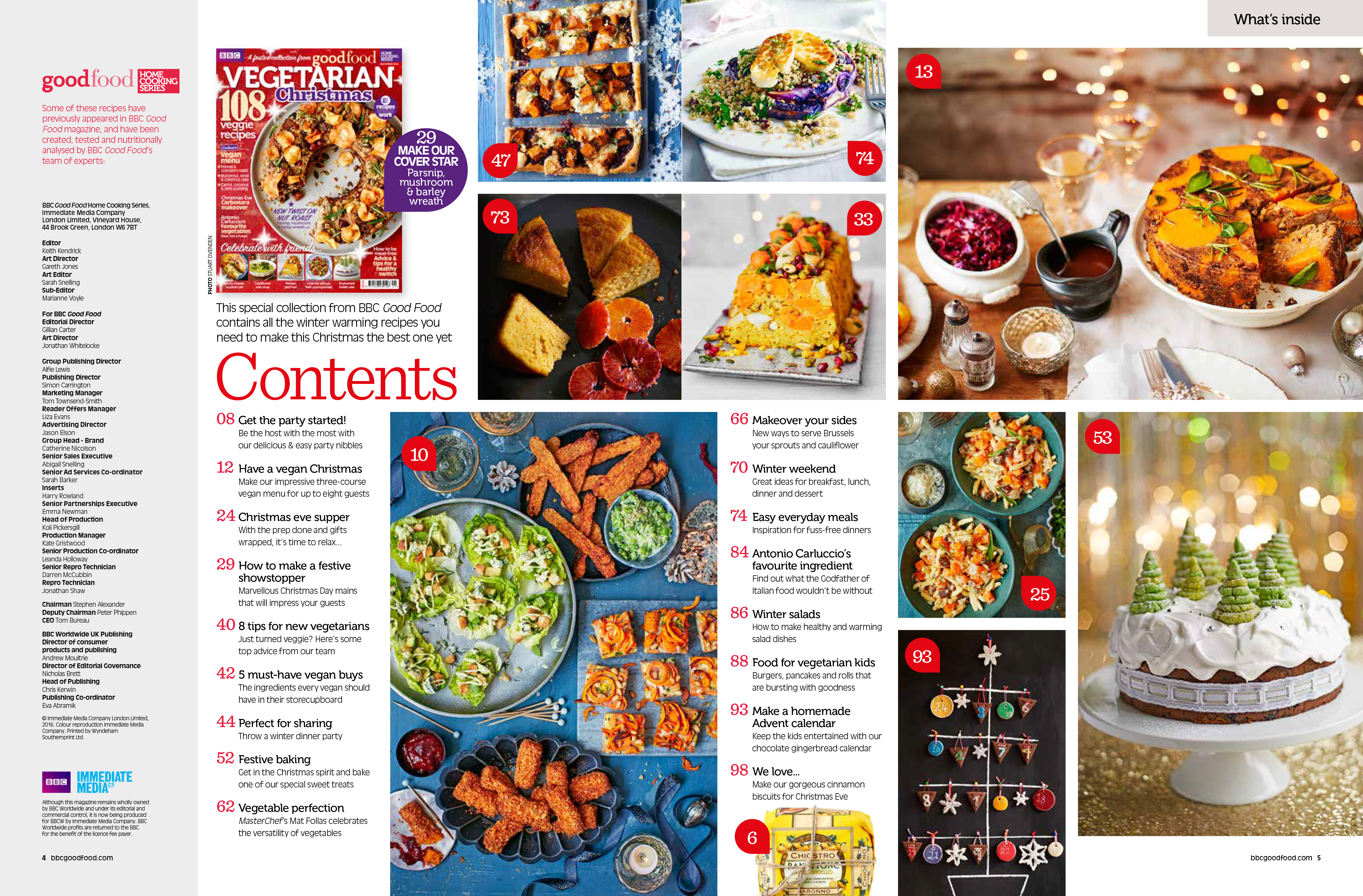 BBC GOOD FOOD HCS VEGETARIAN XMAS