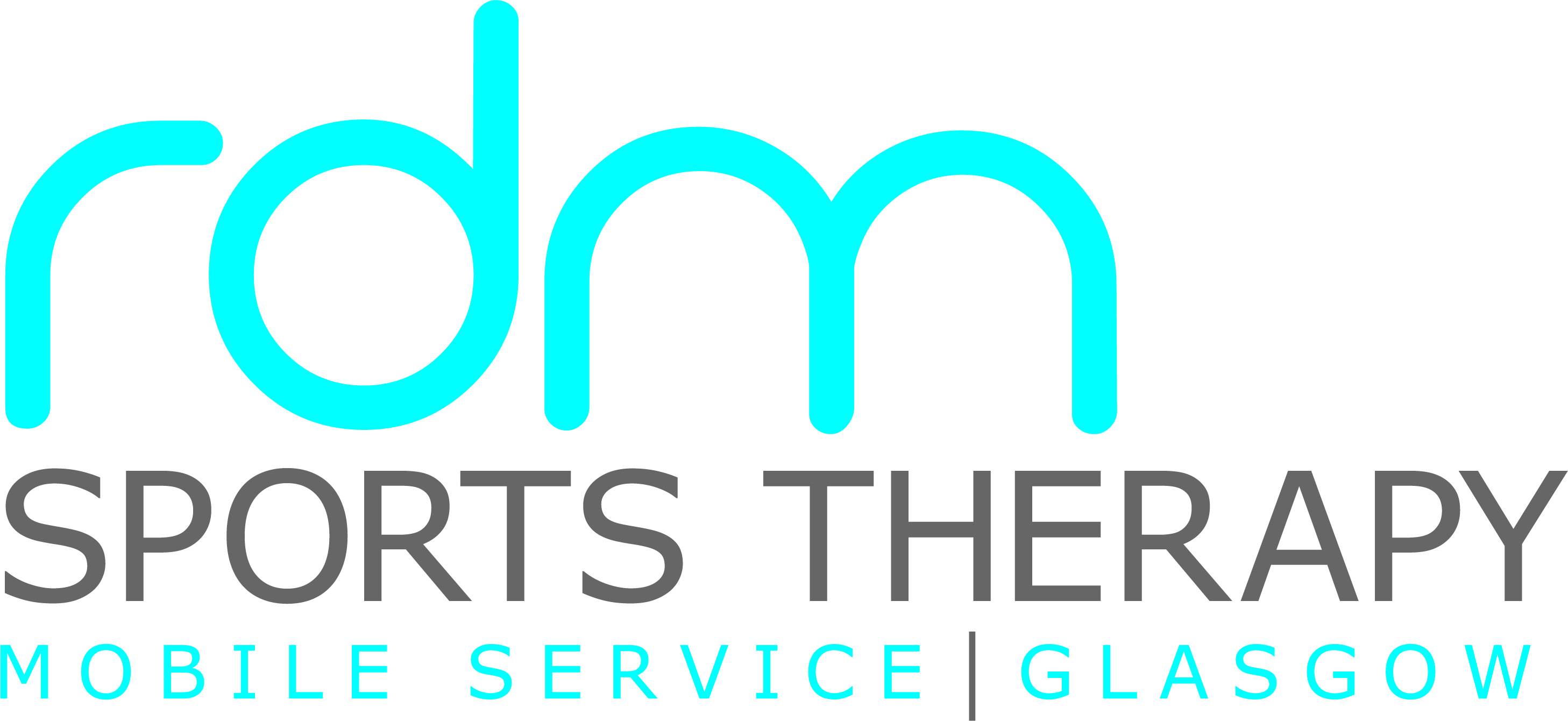 Logo for RDM sports therapy