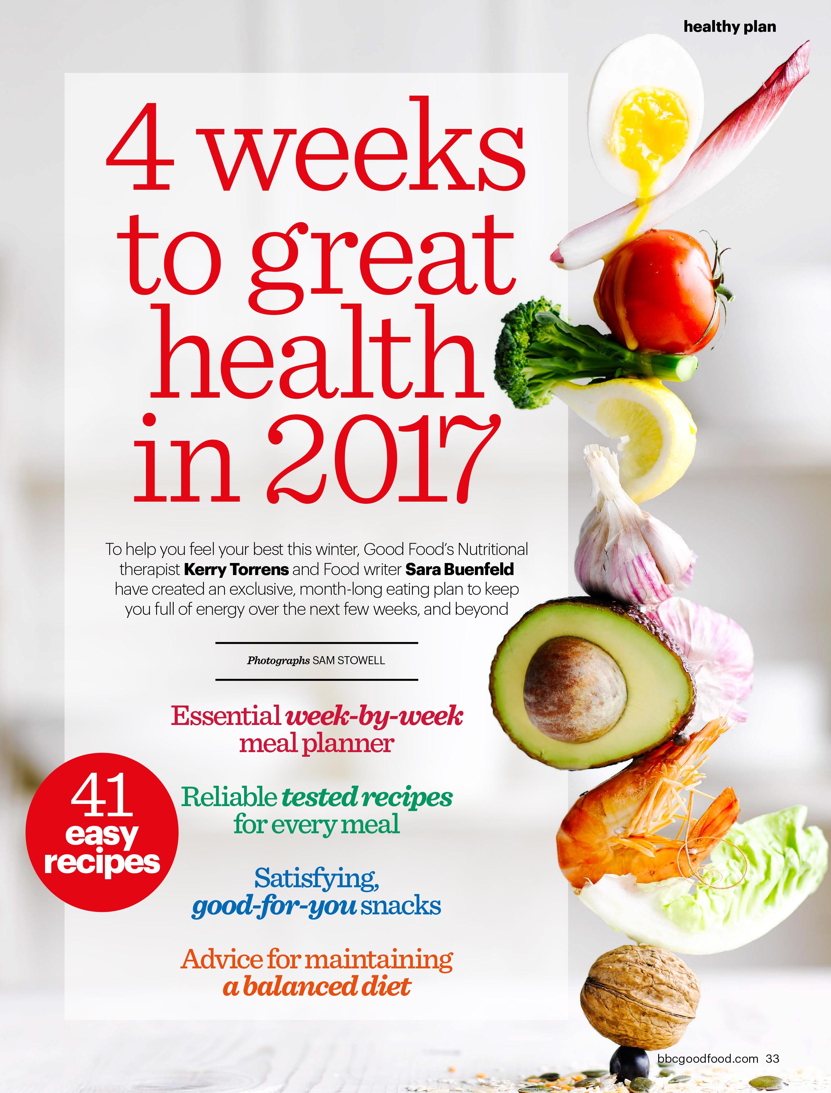BBC GOOD FOOD HCS HEALTHY ©Immediate