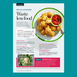 BBC Good Food redesign section