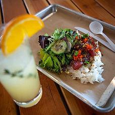 fresh ahi tuna from #RootedandBloomed,