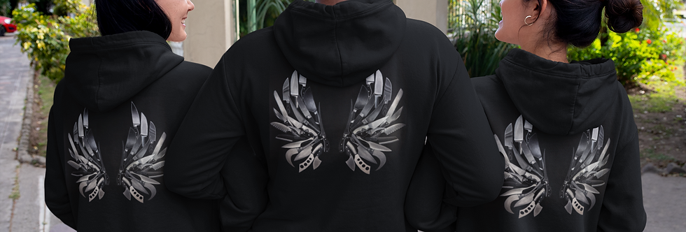 Ladies Hoodie (Light weight material)