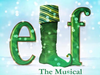 """SANTA! I KNOW HIM!""- ELF at Orlando Repertory Theatre"