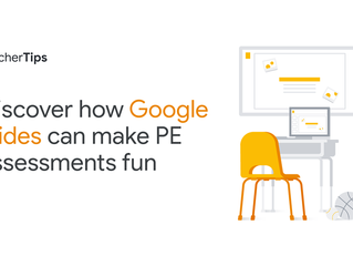 Tech Tip Tuesday - Get students moving in P.E. with Google Slides