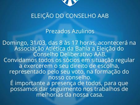 Eleição Conselho Deliberativo AAB