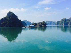 The pretty Karsts of Cat Ba bay