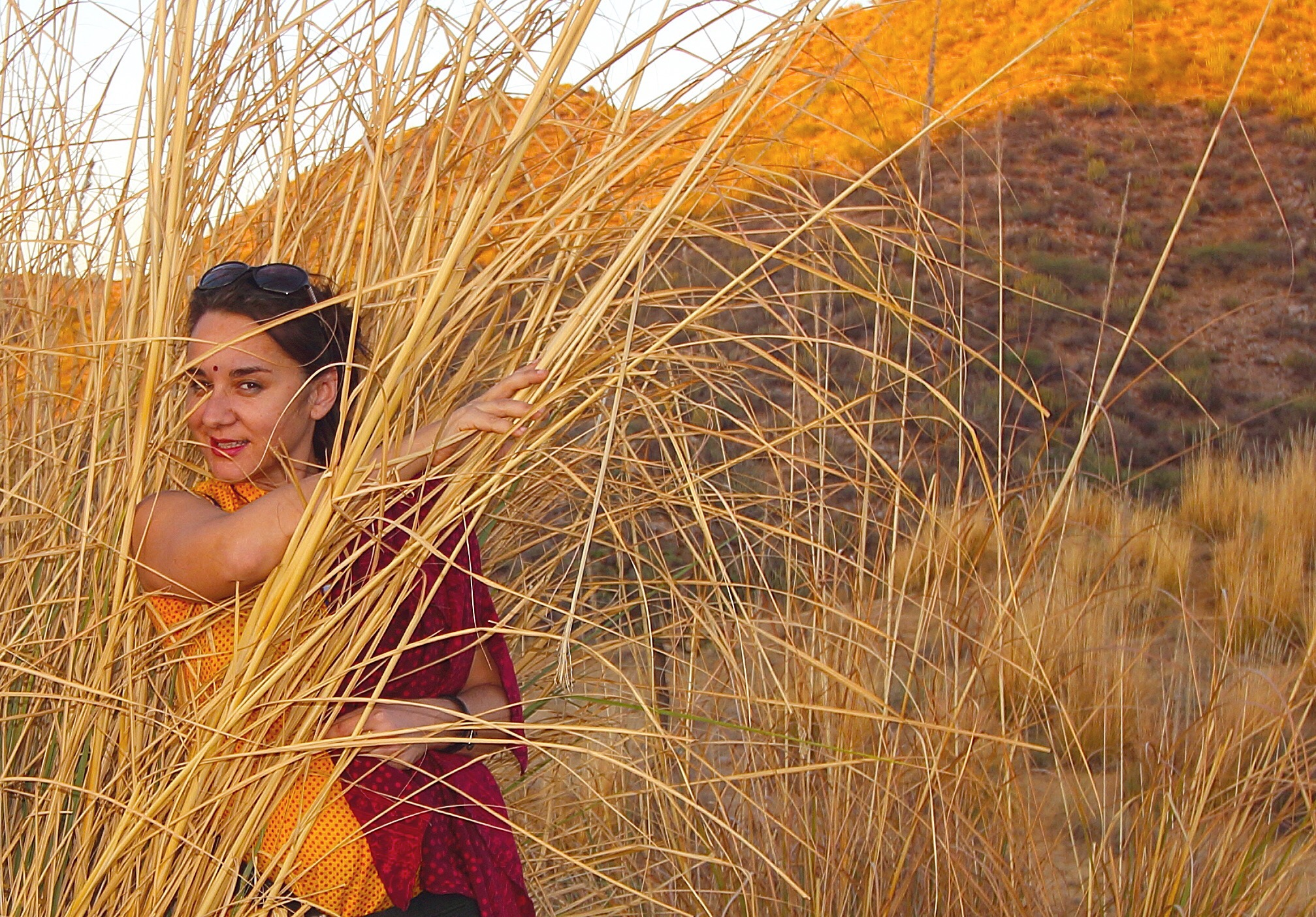 Joana in the grass