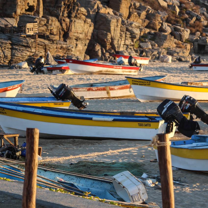 Punta Lobos Fishing Boats