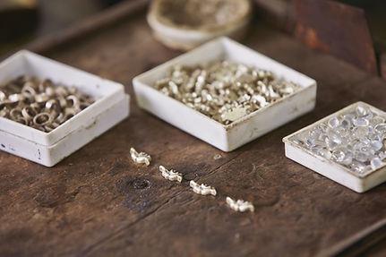 Table de travail en atelier Jewellery