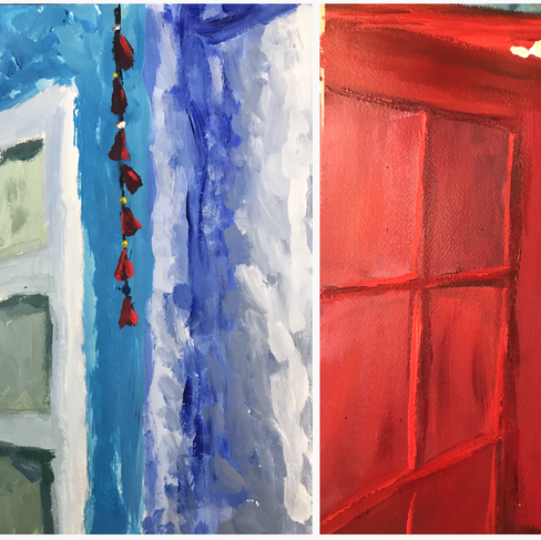 Untitled (Two Doorways)