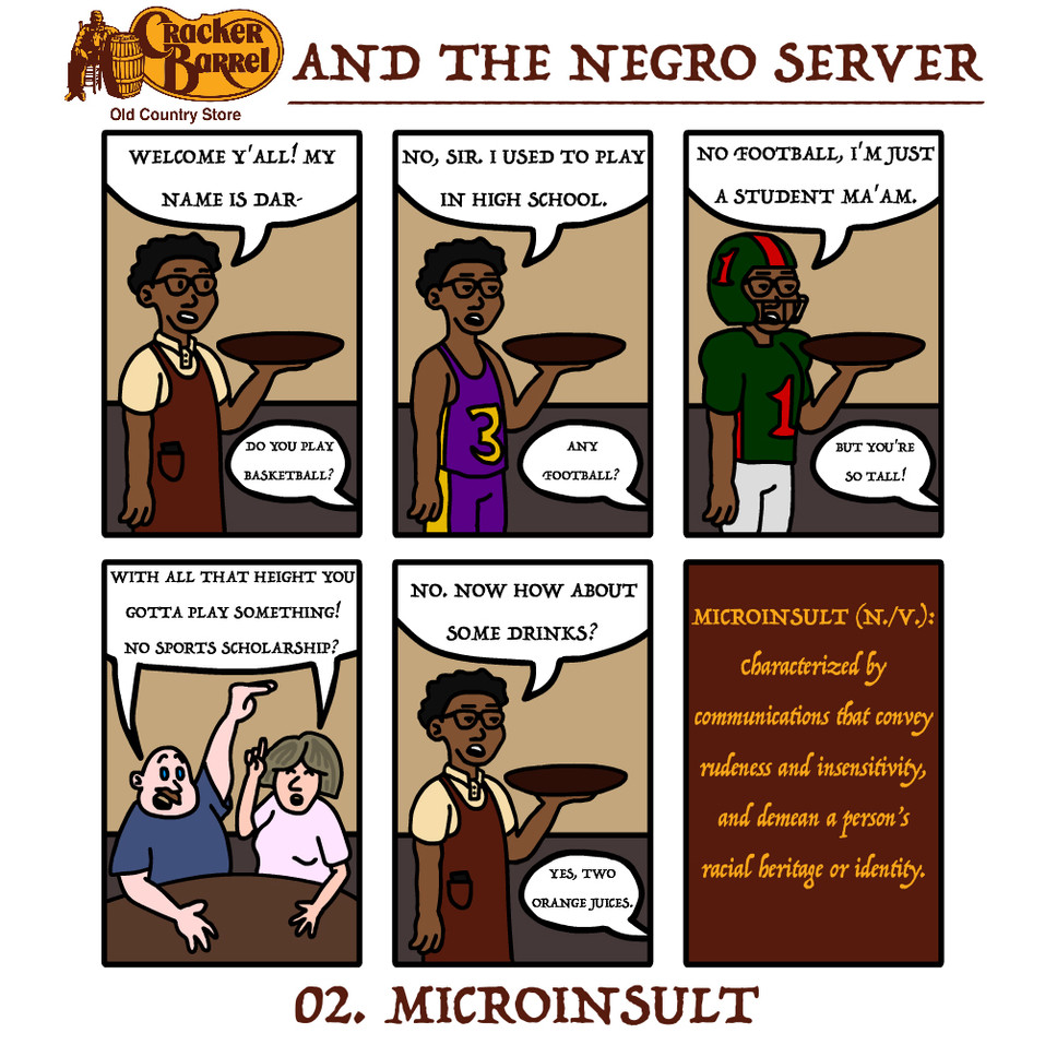 Cracker Barrel and the Negro Server