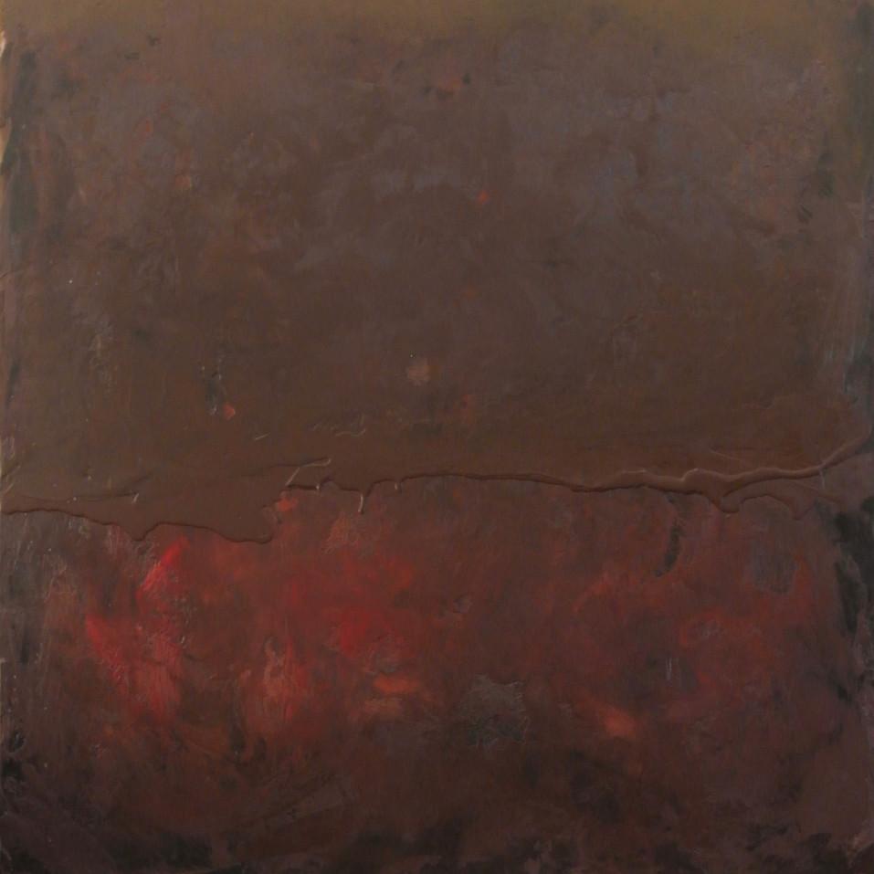 Brown hides the Red underneath; brown #8