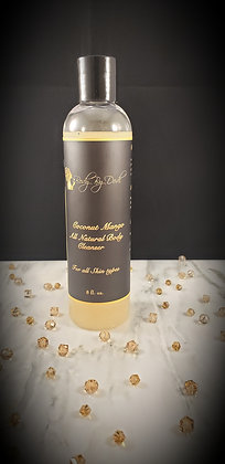 8 Oz. All Natural Body Cleanser (Coconut Mango)