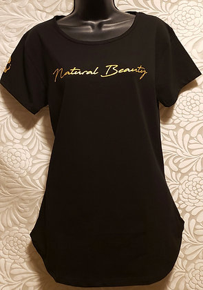 """Natural Beauty"" Women's Curved Bottom Shirt"
