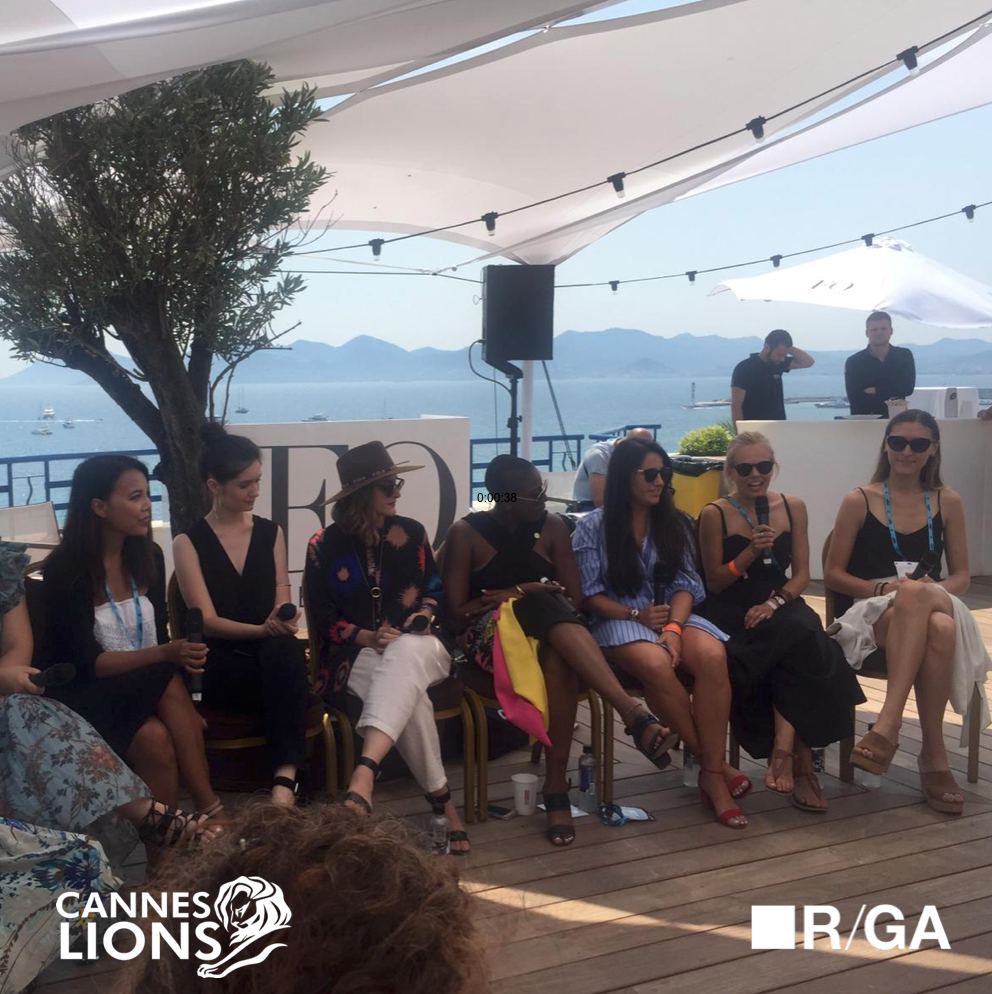 Smartzer Interactive Video at The Girls' Lounge Cannes Lions 2018