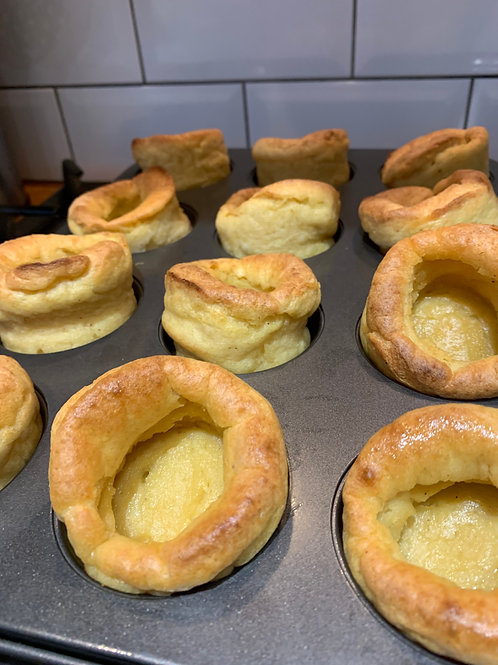 Delivery w/c 19th APRIL - Vegan Yorkshire Puddings (Gluten-Free flour