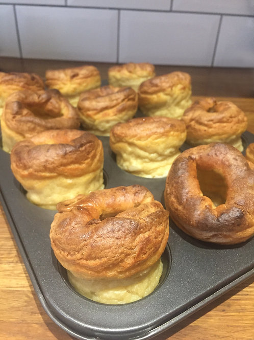 Delivery w/c 1st February - Vegan Yorkshire Puddings (Wheat flour)