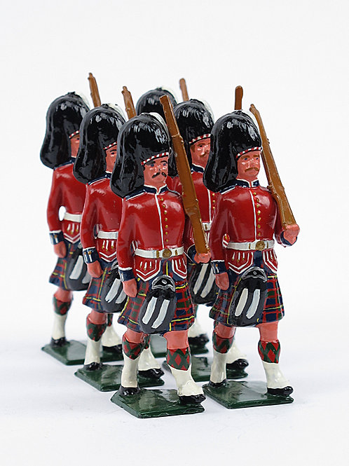 Exquisitely hand painted lead soldiers