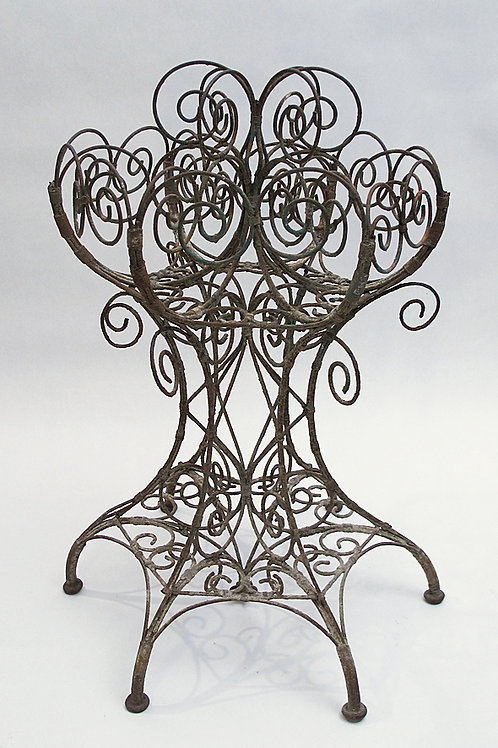 Unusual Wirework Jardinere