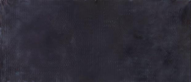 "untitled, 2015, acrylic on customed canvas, 140""x55"""