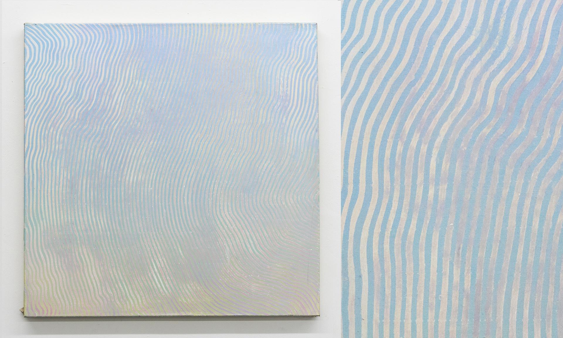 """Wave IV, 2016, acrylic on canvas, 36""""x36"""""""