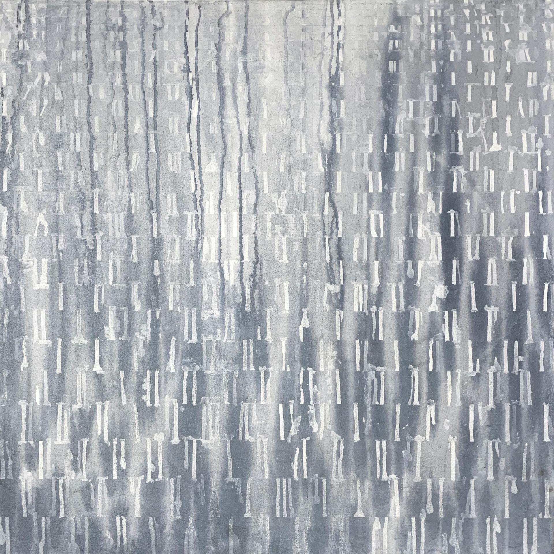 """A Pause II, 2018, acrylic on canvas, 30""""x30"""""""
