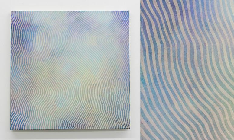 """Wave V, 2016, acrylic on canvas, 36""""x36"""""""