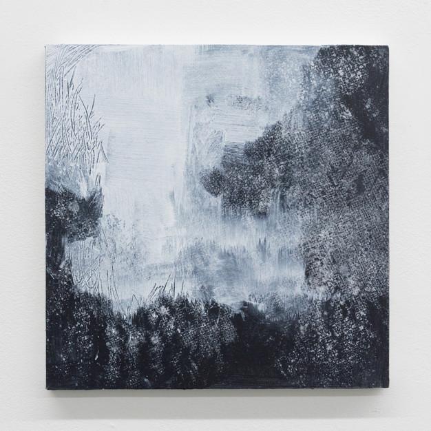 "untitled, 2017, acrylic on wood panel, 12""x12"""